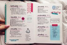 ••bullet journals••
