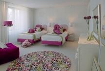girls bedroom decor / by Gina Leach