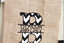 BURLAP / DIY