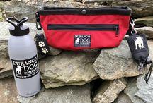 Dog Gear / The ROVING WATERING BOWL.  A compact bag that carries everything you and your dog need while outdoors!  www.DurangoDogCompany.com