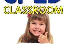 Sped classroom