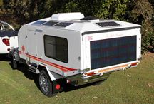 Off road camping trailor