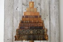 Upcycled book projects / Repurposing used books into something unique and different. Upcycled books, recycled books, recycled book pages, repurposed books, book crafts, diy book crafts,