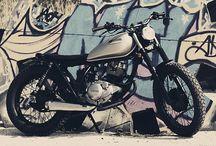 Sebl Racer Cafe Racer Obsession / La Sebl Racer es el resultado de la customización de una Yamaha SR 125 en un estilo Street Tracker.
