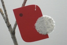 Winter Holiday Decorating / Decorating with a minimalist style and impact.
