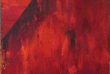 """Exhibition """"CHRISTINE SENGER"""" / """"A proposta da artista da Suíça CHRISTINE SENGER é que o espectador mais próximo da pintura experimente uma espécie de mergulho nas cores, ao deixar os tons cercá-lo por completo e ocupar seu campo de visão. A artista trabalha com cores fortes e explora a sensação de transbordamento dos limites. Não existem fronteiras ou barreiras, as possibilidades multiplicam-se através da cor."""" José Roberto Moreira - Curador e Galerista. Christine Senger vive e trabalha na Suíça."""
