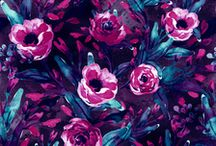 Patternbank / Prints & Patterns / Seamless Floral Pattern