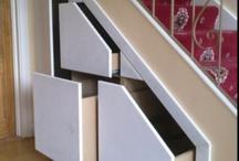 Hidden under the stairs