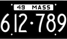 Massachusetts License Plates / Massachusetts License Plates has the honor of being the first state in the union to issue license plates in 1903.
