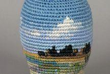 Tapestry crochet-Tapiz de crochet