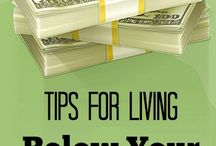 Thrifty Living / Need to save money and live on a budget? These Thrifty Living Tips will help.