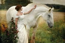 Woman and Equine / Pure beauty