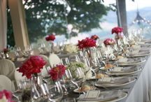 Modern & Elegant Wedding / Flowers and Decorations for a Modern and Elegant Wedding at Castello di Montignano