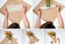 Pakowanie kwiatow
