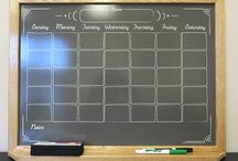 """The Ever-Popular """"Chalkboard"""" Whiteboard / Our """"Chalkboard"""" whiteboards maintain the vintage appeal of a chalkboard, but are updated with a modern whiteboard surface that eliminates chalk dust."""