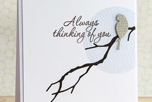 Thinking of you cards / Handmade cards