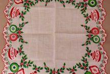 vianočné obrusy-prestierania