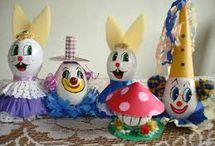 ovos de pascoa decoradas