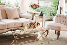 Lounge furniture / For weddings and events