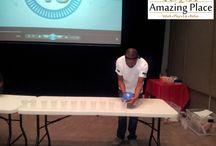 Minute to Win It Team Building / Minute to Win It team building events at The Amazing Place in Sandton
