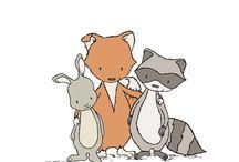 woodland friends :)
