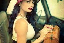 Vintage Woman FOTO