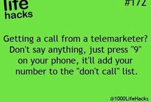 Stop telemarketing on phone