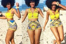 African print in fashion