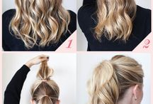Hair inspiration & DIY