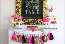 50th Birthday Decoration Ideas / Classy or humorous, indoors or out - we found plenty of creative ideas for a great looking 50th birthday party. / by Birthday in a Box