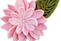 crocheted flowert / New crochet