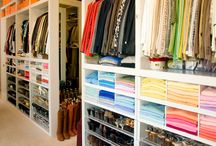 • Walk in Closet • Organized closet
