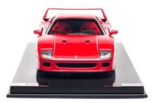 Ferrari F40 at 1:8 scale / Available in a limited edition of 199 pieces, the #Ferrari F40 was designed to celebrate Ferrari's 40th anniversary and was the last model personally approved by Enzo Ferrari.  The successor to the Ferrari 288 GTO, was at the time the fastest and the most powerful model that Ferrari sold to the public. / by Ferrari Store