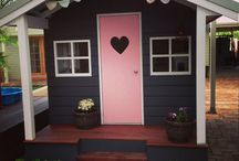 Cubby House / Cubby House Design and Makeover.. Interior and Exterior!