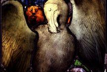 Benjamin Finn stained glass window