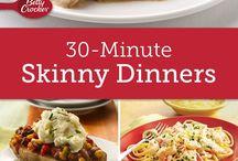 Low-fat (hopefully high-taste!) meals