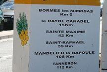 La Route du Mimosa / Aujourd'hui sur 130 km, la Route du Mimosa s'étend de Bormes-les-Mimosas à Grasse. Cet itinéraire touristique, recommandé de janvier à mars, est typiquement le symbole d'une Côte d'Azur hivernale qui propose sous un climat doux, une sorte de villégiature itinérante entre bleu azur et jaune soleil. http://routedumimosa.com/
