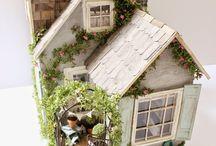 miniaturní domečky