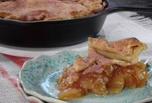 Skillet Apple pie / Easy Apple pie