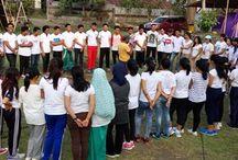 Dokumentasi Program Outbound, Outing, gathering dan Adventure di Bali / Outbound di Bali oleh Armada Adventure dengan Berbagai klien telah ditangani. Rancangan program Outbound, Outing, Gathering dan Adventure di Bali. Lebih mengutamakan outdoor activitiy.