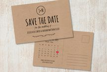 Save the date and invites