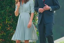 Our Favourite Royal Kate Middleton / A collection of the most elegant Duchess of Cambridge fashion choices paired with opulent Freya Rose shoes.