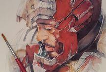Heroes Art