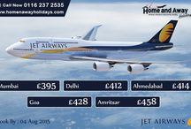 Jet airways flights to India offer