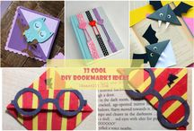 DIY Bookmark Ideas / Collection Cute and Beautiful DIY Bookmarks Tutorials with a step-by-step guide for each on how to make them. #DIYBookmarks #BookmarkIdeas #DIY
