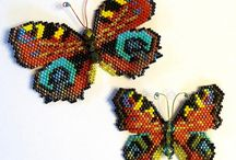 Butterflies, Moths, and Dragonflies too. / From the real things to beaded, wired, embroidered. Natures beauty.