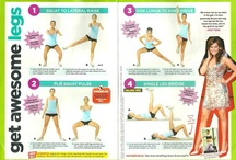 diet & excercize / by Lisa Stockwell