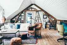 Attic apartment