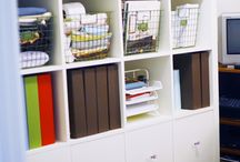 Ikea Rocks!! / Ikea hacks and flexible use ideas for my Ikea collection of BILLY bookcases, EXPEDIT cubes and STOLMEN shelves. / by Dannette Lewis