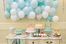 globos con buffet